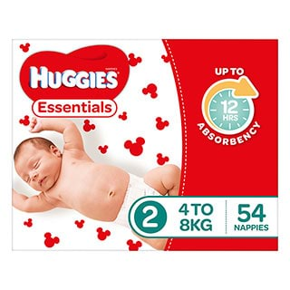 Image for Huggies Essential Stage 2 Infant - 54 Pack from Amcal
