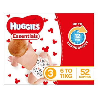 Image for Huggies Essential Stage 3 Crawler - 52 Pack from Amcal