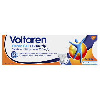 Image for Voltaren Osteo Gel 12 Hourly - 100g from Amcal
