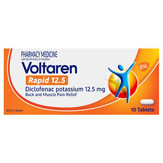 Image for Voltaren Rapid 12.5mg - 10 Tablets from Amcal