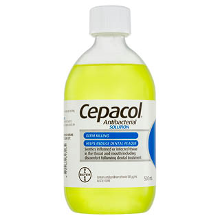 Image for Cepacol Antibacterial Solution - 500mL from Amcal