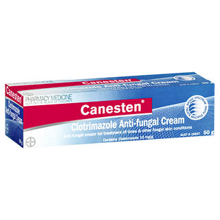 Image for Canesten Anti-fungal Cream - 50g from Amcal