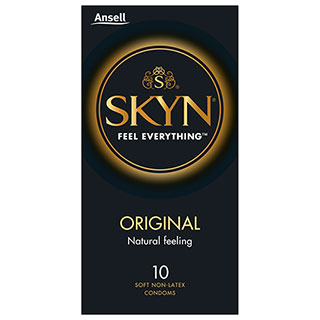 Image for Ansell Lifestyles Condoms SKYN - 10 Pack from Amcal