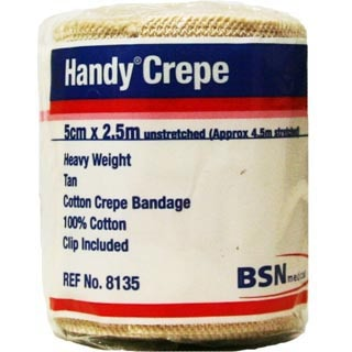 Image for Handy Crepe Heavy Tan - 5cm X 2. 3m from Amcal