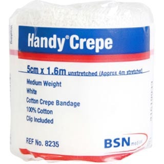 Image for Handy Crepe Medium White - 5cm X 1. 6m from Amcal