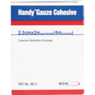 Image for Handy Gauze Cohesive 2. 5cm X 2m - 2 Pack from Amcal