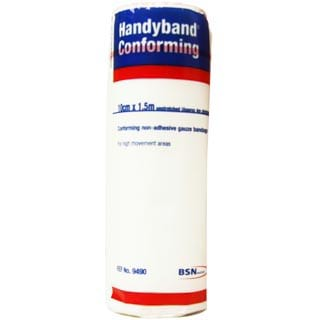 Image for Handy Band Conforming White - 10cm X 1. 5m - 1 Pack from Amcal