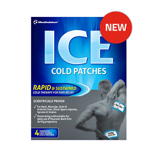 Image for Mentholatum Ice Cold Patches - 4 Pack from Amcal