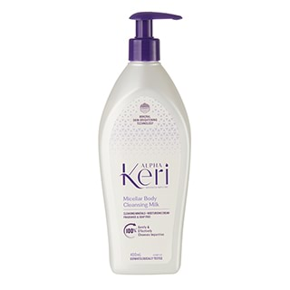 Image for Alpha Keri Mineral Micellar Cleansing Body Milk - 400 mL from Amcal