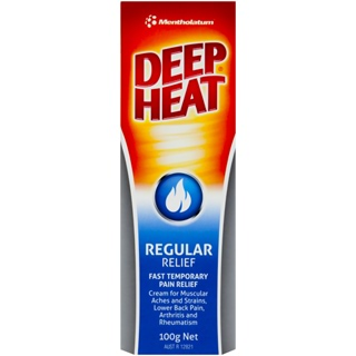 Image for Deep Heat Regular Relief - 100g from Amcal