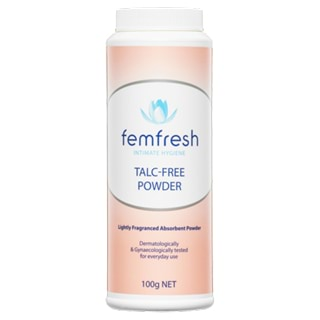 Image for Femfresh Talc-Free Powder - 100g from Amcal