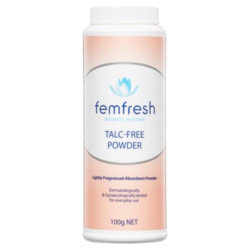 NEW Femfresh Feminine Powder Talc-Free Powder Intimate Hygiene 100g