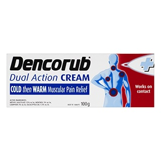 Image for Dencorub Dual Action Cream - 100g from Amcal