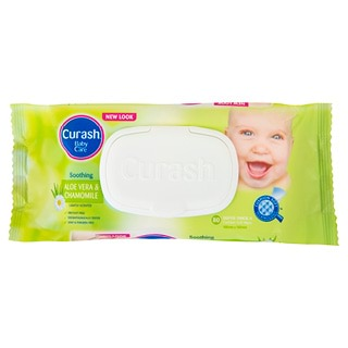 Image for Curash Baby Wipes Soothing - 80 Pack from Amcal