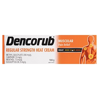 Image for Dencorub Regular Heat Cream - 100g from Amcal