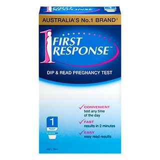 Image for First Response Pregnancy Test - 1 Test from Amcal