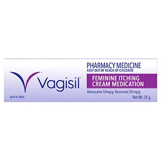 Image for Vagisil Feminine Itching Cream Medication - 25g from Amcal