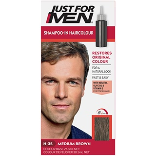 Image for Just for Men - Medium Brown 33 Hair Colour from Amcal