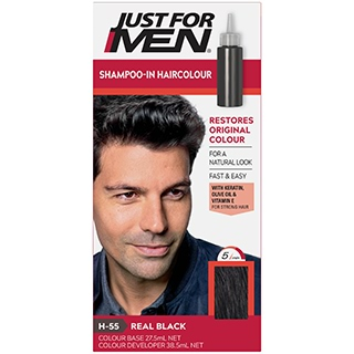 Image for Just for Men - Black 37 Hair Colour from Amcal