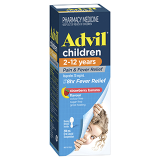 Image for Advil Pain & Fever Suspension - 200ml from Amcal