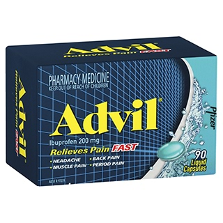 Image for Advil Liquid - 90 Capsules from Amcal