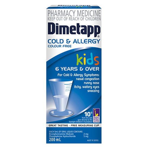 Image for Dimetapp Elixir Cold & Flu - 100ml from Amcal