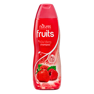 Image for Natures Organics Fruits Wild Berry Shampoo 500mL from Amcal