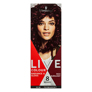 Image for Schwarzkopf Live Colour Rich Burgundy Hair Colour from Amcal
