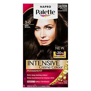 Image for Napro Palette 3-0 Dark Brown Hair Colour from Amcal