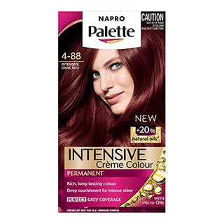 Napro Palette 4 88 Intensive Dark Red Hair Colour Amcal