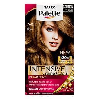Napro Palette 70 Light Brown Hair Colour  Amcal