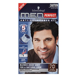 Image for Schwarzkopf Men Perfect - 70 Natural Dark Brown Hair Colour from Amcal