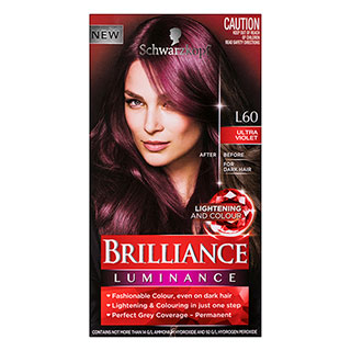 Image for Schwarzkopf Live Brilliance Luminance L60 Ultra Violet Hair Colour from Amcal