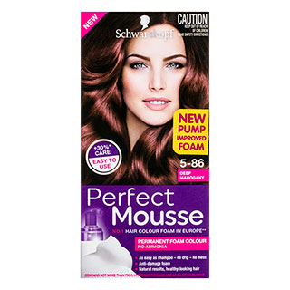 Image for Schwarzkopf Perfect Mousse Mahogany 5-86 Hair Colour - 170mL from Amcal