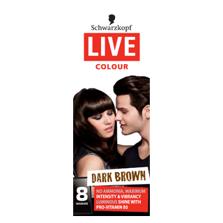 Image for Live Salon Colour - Dark Brown from Amcal