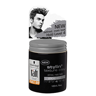 Image for Schwarzkopf Taft Full On Styling Texture Clay - 100ml from Amcal