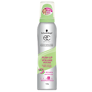 Image for Schwarzkopf Extra Care Push Up Volume Express Mousse - 125mL from Amcal