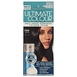 Image for Schwarzkopf Ultimate Colour - 100 Black from Amcal