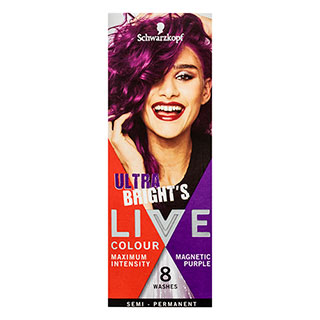 Image for Schwarzkopf Live Colour Ultra Brights Mag Purple from Amcal
