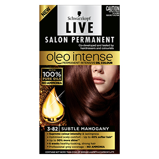 Image for Live Salon Oleo Intense 3-82 Mahogany from Amcal