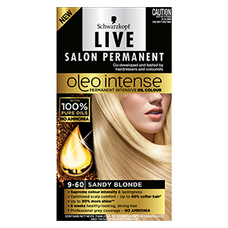 Image for Live Salon Oleo Intense 9-60 Sandy Blend from Amcal