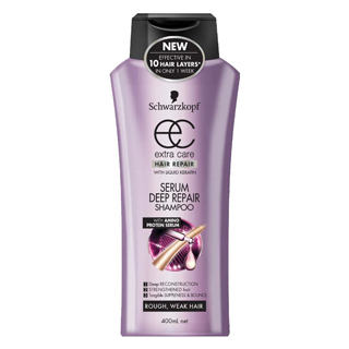 Image for Schwarzkopf Extra Care Serum Deep Repair Shampoo - 400mL from Amcal