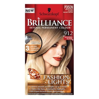 Image for Schwarzkopf Brilliance Fashion Lights 912 Sunkissed Blonde from Amcal
