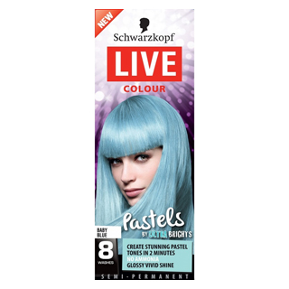 Image for Schwarzkopf Live Colour Pastel Baby Blue from Amcal