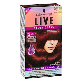 Image for Schwarzkopf Live Salon Gloss 5-89 - Dark Berries from Amcal