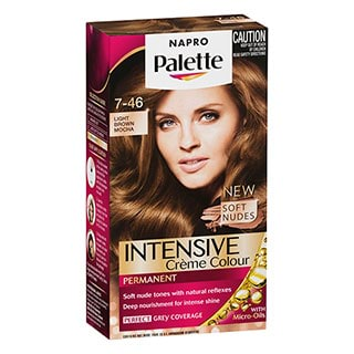Image for Napro Palette Permanent Soft Nudes Collection Permanent 7-46 - Light Brown from Amcal