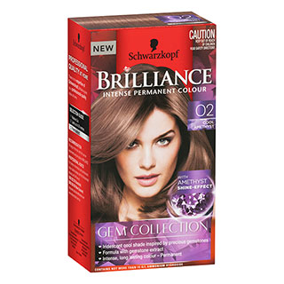 Image for Schwarzkopf Brilliance Permanent Colour Gem Collection 02 - Cool Amethys from Amcal