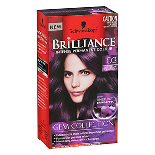 Image for Schwarzkopf Brilliance Intense Permanent Colour Gem Collection 03 Dark from Amcal