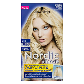 Image for Schwarzkopf Nordic Blonde L1 Extreme Lightener - 1 Pack from Amcal