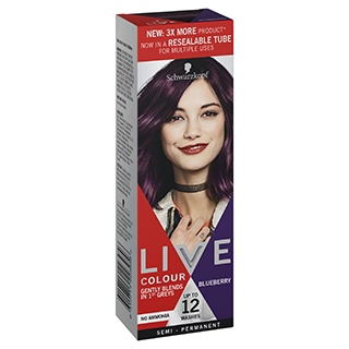 Image for Schwarzkopf Live Colour Blueberry 75mL from Amcal